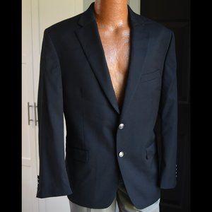 Michaels Kors Navy Blazer Silver Crest Buttons 42S